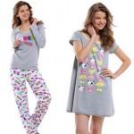 Modelos de Pijamas Confortáveis Femininos