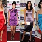 Vestidos de Cetim Moda 2014: Fotos