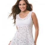 Modelos de Blusinhas Vazadas Femininas Moda 2014