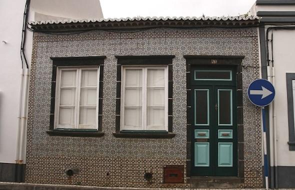 Frentes de casas com cer mica fotos modelos - Ceramica para fachadas casas ...