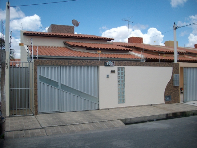 Frentes de casas com cer mica fotos modelos for Ver frentes de casas