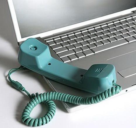 Ligações gratuitas pela internet
