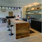 Modelos de Bancadas de Madeira na Cozinha