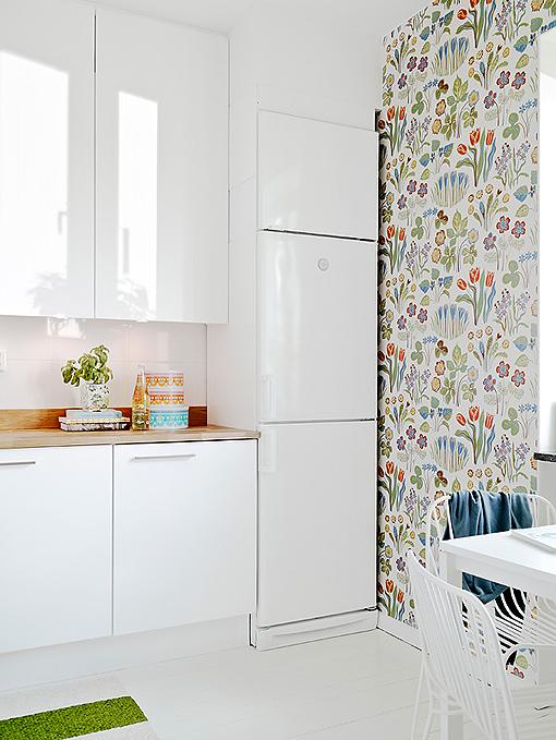 Papel de parede na cozinha como usar modelos - Papel pared online ...