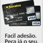 Cartão Livraria Saraiva: solicitar