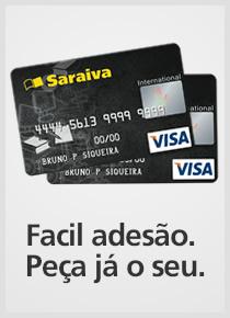 Cartão Livraria Saraiva