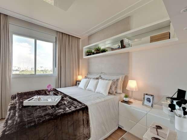 decoracao de interiores pequenos quartos : decoracao de interiores pequenos quartos:Decoração de Quarto de Casal Pequeno: Fotos, Dicas para Decorar
