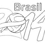 Desenhos para Colorir Copa 2014