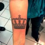 Tatuagens de Coroas: modelos, fotos