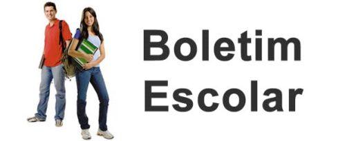 Boletim Escolar 2015