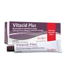 Vitacid Plus para Manchas na Pele