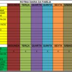 Cronograma de Tarefas Diárias