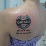 Tatuagens do Grêmio