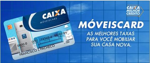 Moveis Card Caixa: como solicitar