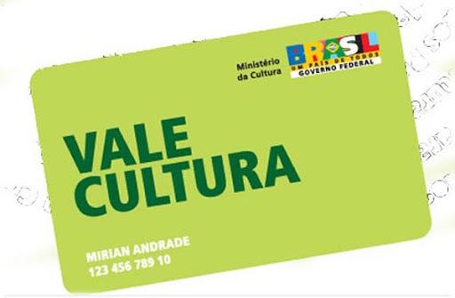Programa Vale Cultura: cadastro