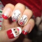 Unhas Decoradas Natal 2014