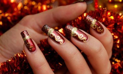 Unhas Decoradas Natal 2014: fotos, modelos