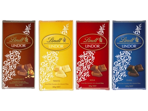 Chocolates Lindt Suíço