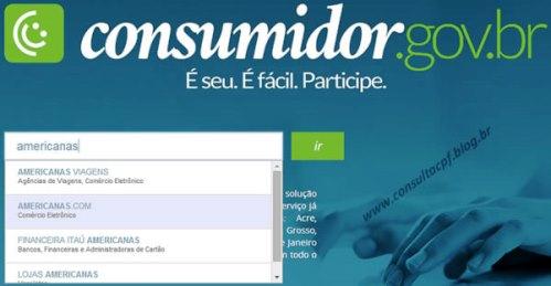 Site do Consumidor