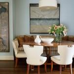 Decoração de sala de jantar pequena