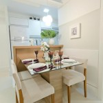 decoração para sala de jantar pequena