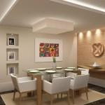decorar uma sala de jantar pequena