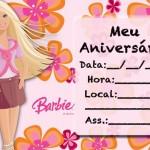 Convites de Aniversário feminino