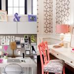como decorar um escritório feminino