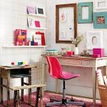 como decorar um escritório para mulheres