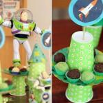 como montar decoração toy story aniversário infantil