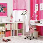 Decoração de escritório feminino