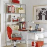 decoração fácil de escritório feminino