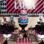 decoracao monster high simples para festa infantil