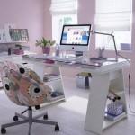 Decoração para escritório feminino