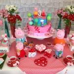 decoração peppa pig para festas