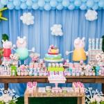Decoração Peppa Pig para Aniversário infantil