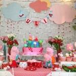 decoração peppa pig para festa de criança