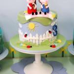decoração peppa pig para festas de aniversário infantil