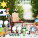 fotos modelos de decoração toy story aniversário