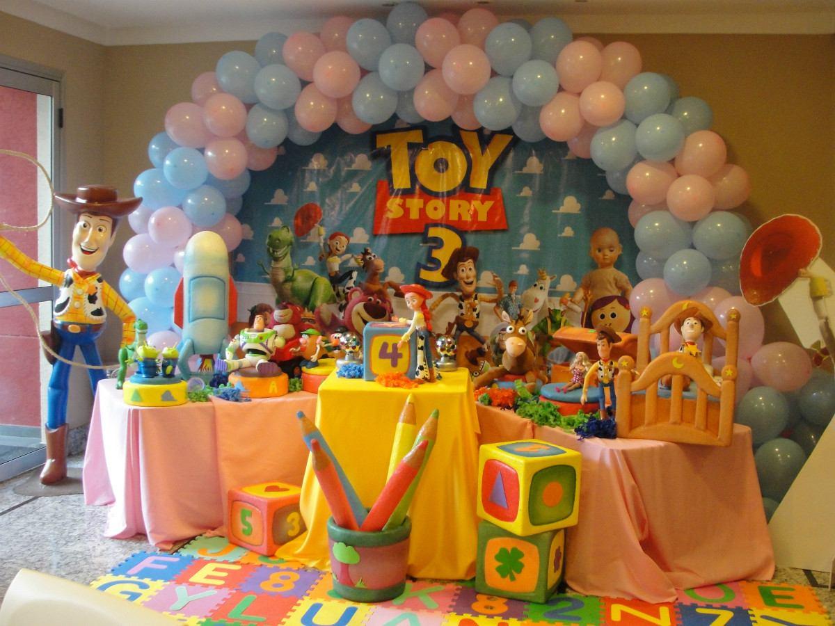 decoração toy story para aniversário infantil