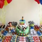 decoração toy story aniversário infantil fotos