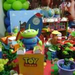 decoração toy story aniversário infantil