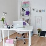 escritório feminino pequeno