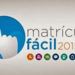 Site Matrícula Fácil RJ 2015 (www.matriculafacil.rj.gov.br)