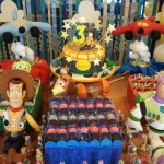 modelos de decoração toy story aniversário