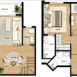 projeto sobrado moderno 3 quartos