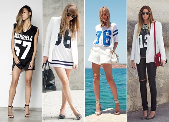 camisas de futebol americano femininas