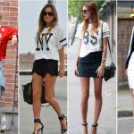 camisetas de futebol americano femininas