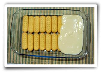 Pavê de Abacaxi com biscoito simples