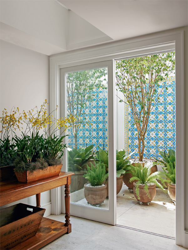 decorar um jardim:sugestoes para decorar um jardim de inverno na sala